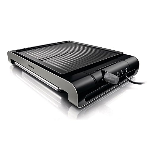 Philips HD4417 Ribbed Plate Compact Electric Grill 220V