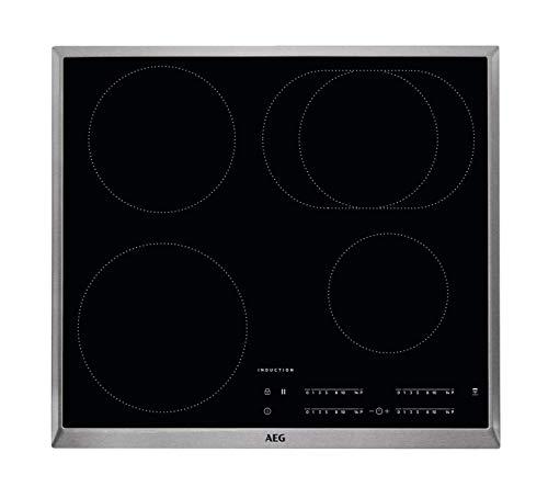 AEG IKB64411XB ge�ntegreerde kookplaat (inductie), zwart, 1400 W, rond, 14,5 cm
