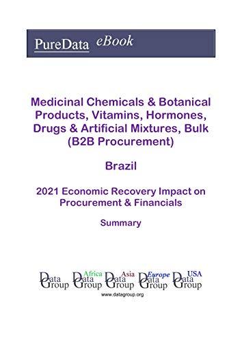 Medicinal Chemicals & Botanical Products, Vitamins, Hormones, Drugs & Artificial Mixtures, Bulk (B2B Procurement) Brazil Summary: 2021 Economic Recovery Impact on Revenues & Financials