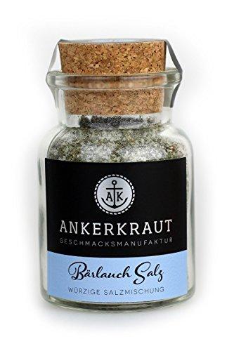 Ankerkraut Bärlauch Salz, 170g im Korkenglas