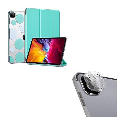 of ulak glass screen protectors ULAK Case for iPad Pro 11 Inch 2020&2018 Slim Lightweight + 2pcs Camera Lens Screen Protector
