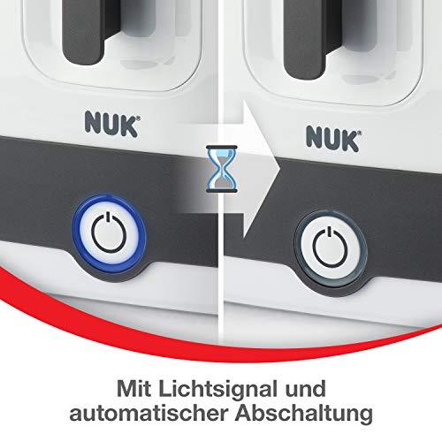 NUK Vario Express Dampf-Sterilisator für bis zu 6 Babyflaschen, Sauger & Zubehör - 5