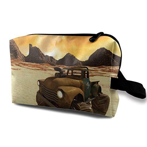 Hdadwy Desert Buggy Tragbare Reise Kosmetiktaschen Make-up Organizer Taschen Große Kapazität Toilettenartikel Organizer Koffer Reisetasche Geldbörse