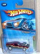 Hot Wheels Mattel 2005 Treasure Hunt 1:64 Scale Maroon Rodger Dodger 9/12 Die Cast Car #129