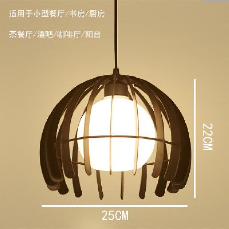 LuckyLibre Creative Moderne Mode Pendentif Luminaires Plafonnier Lustre Chambre Salon Cuisine, 9W 8007-2 ampoule noire