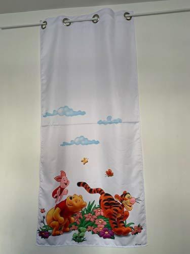 Winnie The Pooh - Juego de 2 cortinas (75 x 150 cm)