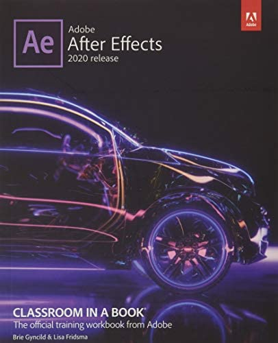 Adobe After Effects Classroom in a Book 2020 release product image