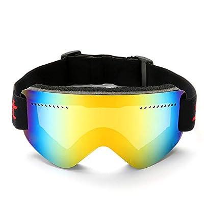 FENGSHUAI Skibrille Anti-Fog und Winddichte Unisex-Bergsport-Skibrille für Bergsport, Outdoor, Skifahren