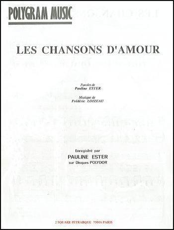 LES CHANSONS D\'AMOUR