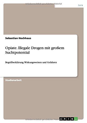 Opiate. Illegale Drogen mit großem Suchtpotential: Begriffserklärung, Wirkungsweisen und Gefahren