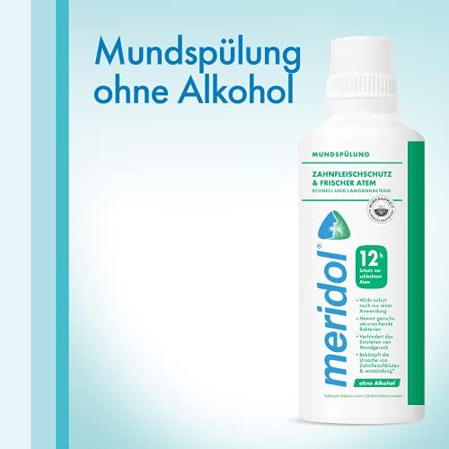 meridol SICHERER ATEM Mundspülung, 400 ml - 6