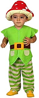 Baby Boys Toadstool Mushroom Garden Gnome World Book Day Carnival Fancy Dress Costume Outfit