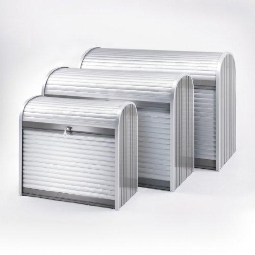 BIOHORT 190 Store Max Aufbewahrungsbehälter, Quarz, Grau/Silber