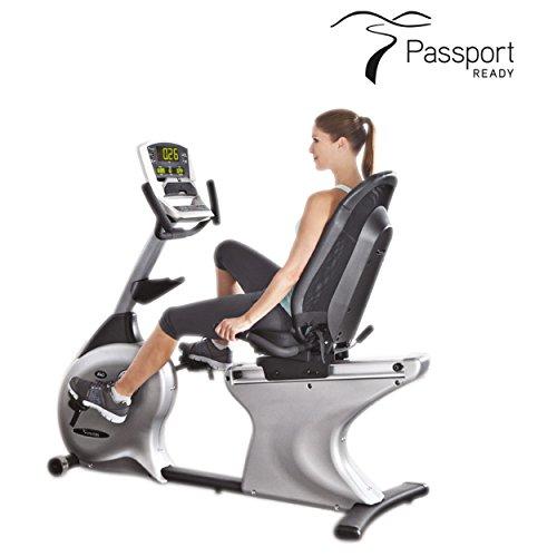 Vision Fitness Halbliege Ergometer R40i Classic Recumbent Fahrradtrainer