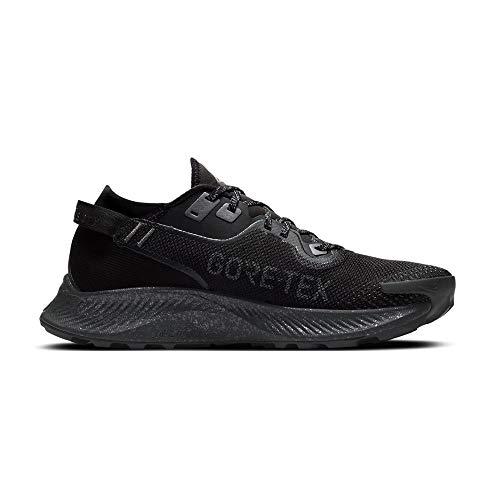 Nike Pegasus Trail 2 GTX, Scarpe da Corsa Uomo, Black Iron Grey Mtlc Dark Grey, 43 EU