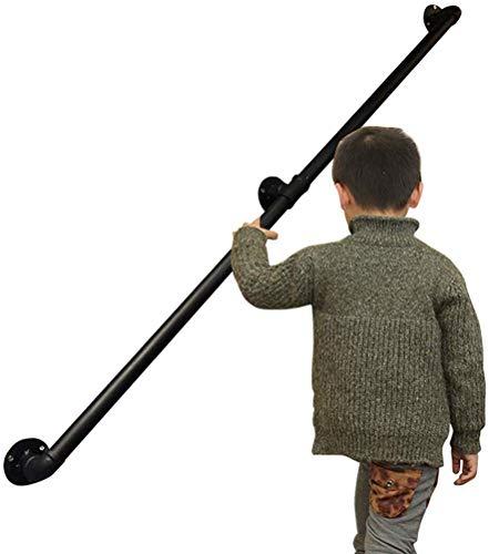 Leilims leuning voor gordijnroede, railset, graf-rails, 30~600 cm, veiligheid, trap, trein, wandleuning, voor vrouwen, ouders/gehandicapten/zwangere vrouwen