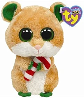 Ty Beanie Boos Candy Cane - Hamster by Ty Beanie Boos