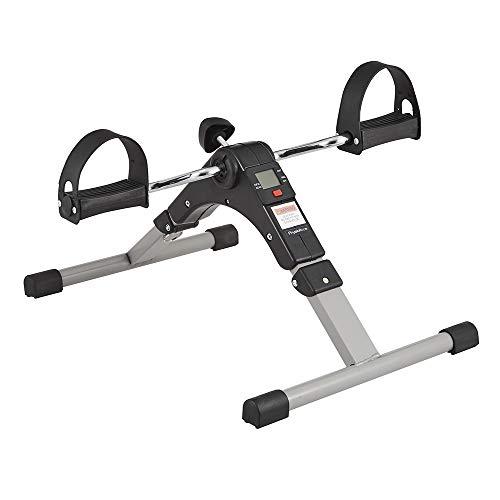 Physioroom Faltbarer Mini Heimtrainer - Kompakt Beweglich Arme/Beine Übungen unter Tisch Trainer mit LCD Anzeige & Einstellbarem Widerstand - Ideal für Rehabilitation, Muskelaufbau und Koordination