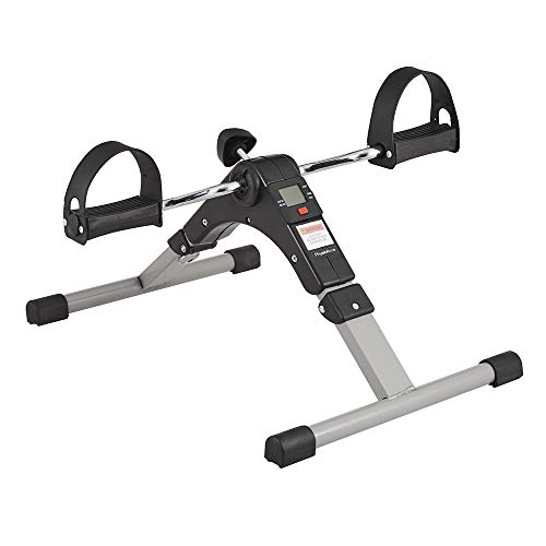 Foldable Mini Pedal Exerciser Bike - Compact Portable Arm/Leg Exercise...