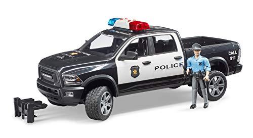 bruder- Véhicule Police, BR02505, Multicolore