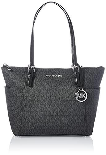 "Large sized bag; 16""W x 10""H x 4-1/2""D; 12""L handles Gold-tone hardware & 2 slip pockets 1 interior zip pocket & 2 slip pockets Leather"