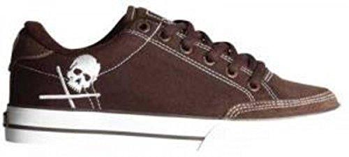 Circa Skateboard Schuhe- ALW50- ChocolateWhite/Skull, Schuhgrösse:36.5