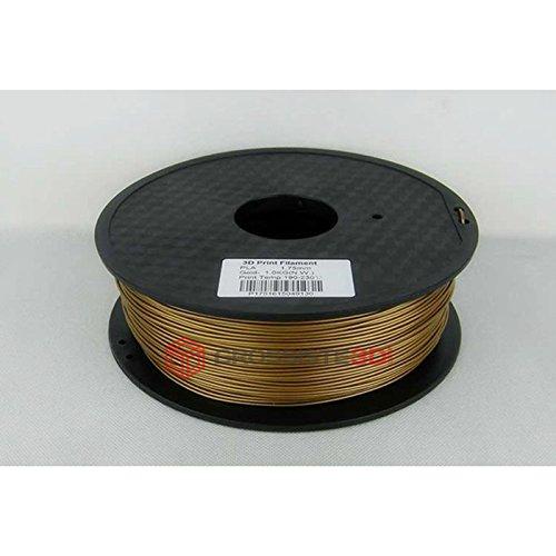 Filamento 3d abs 1.75mm fili 3d plastica Printer Stampante 3d o Penna 3d Bobina 1kg bronzo grossiste3d