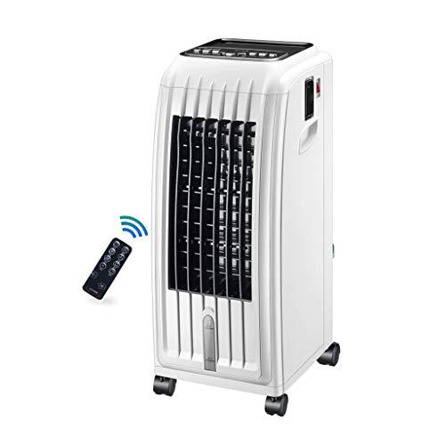 GYF Climatizador Portatil Frio Calor,3-en-1 Multifuncional Enfriador De Aire Purificador Humidificador Uso Portátil Y Fácil Blanco 28.5X34.5X70.5CM
