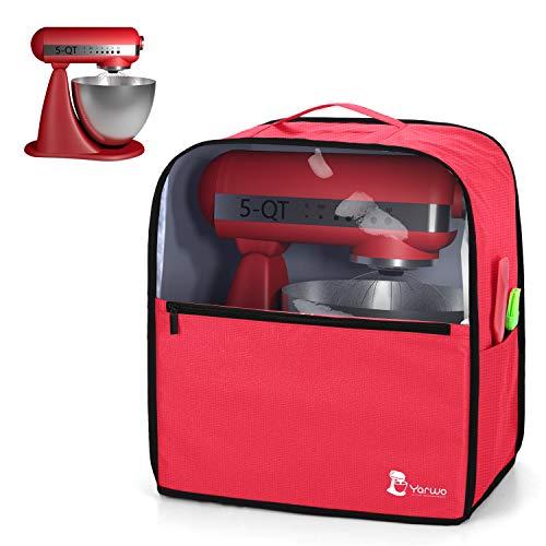 Yarwo Cubierta para Batidoras Amasadoras, Cubierta para KitchenAid Robots de Cocina 4.3...