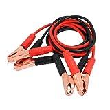 CABLEPELADO Pinzas de bateria de Coche y Motos 2.5 M Rojo-Negro 800 A