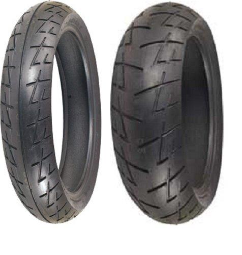 Shinko Raven 009 set 120/70zr17 Front & 180/55zr17 rear 180 55 17 120 70 17 2 Tire Set