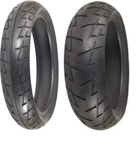 Shinko Raven 009 set 120/70zr17 Front &...