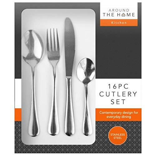 Roestvrij stalen bestek set lepel vork thee voor moderne keuken met een sterke mooie presentatie doos