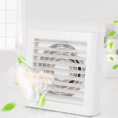 Extractor De Aire, Extractor Cocina Ventilador de escape, extractor de humos Ventilador de ventilación para el hogar Ventilador de ventana eléctrica de 6 pulgadas, adecuado para baño / cocina / sala d