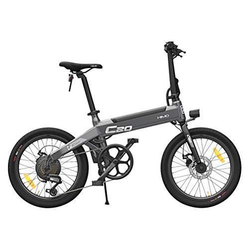Bicicletas Eléctricas Plegables para Adultos, 25km/h Bicicleta Ciclomotor Eléctrica 250W 36V E-Bike para Hombres Mujeres Ciclismo Viaje Rutina de Ejercicio y Desplazamientos Capacidad de Carga 100kg