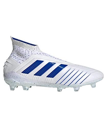 adidas Performance Herren Fußballschuhe Rasen Predator 19+ FG Weiss/blau (902) 42