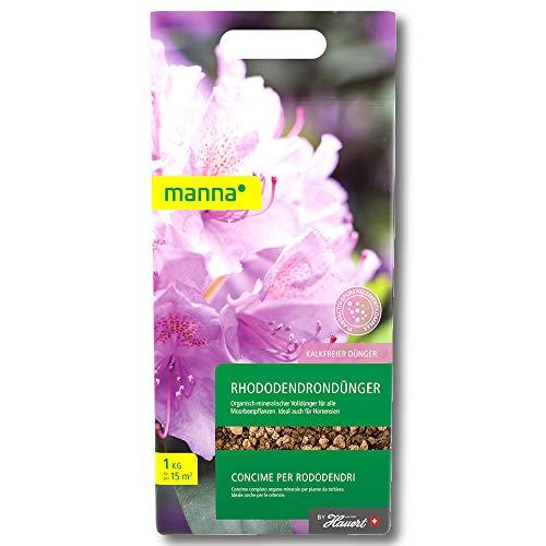 Hauert Manna Engrais Rhododendron 1 kg Azalées Bruyères Callunen Morbeetpflanzen