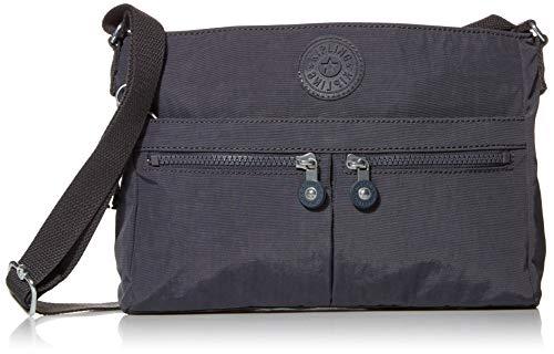 Kipling unisex adult New Angie Crossbody Bag, Night Grey Rm, Medium US