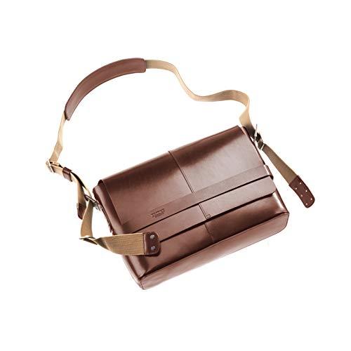 Brooks Umhängetasche Barbican Leather Bag 13 Liter, braun, 8001000