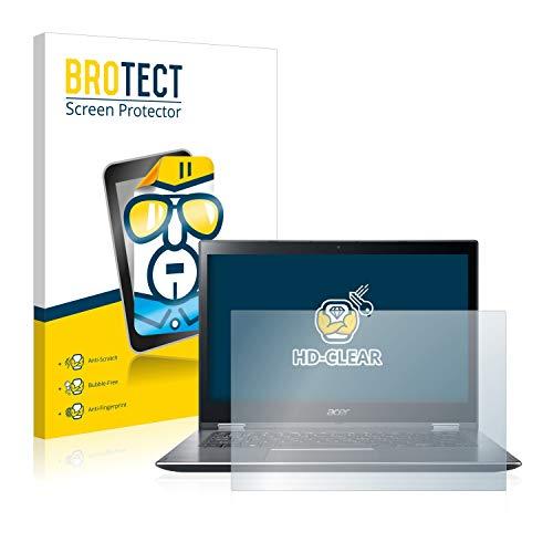 BROTECT Schutzfolie kompatibel mit Acer Spin 3 SP314-51 klare Bildschirmschutz-Folie
