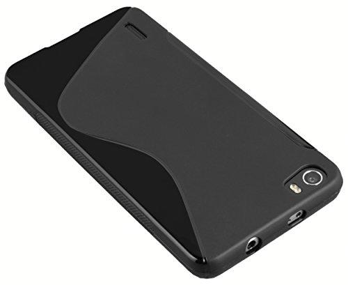 mumbi Hülle kompatibel mit Honor 6 Handy Case Handyhülle, schwarz - 3