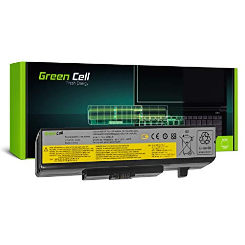 Green Cell Akku für Lenovo ThinkPad Edge E430 3254 6271 E430c 3365 E431 6277 6886 E435 3256 3469 E440 20C5 E530 3259 6272 E530c 3366 E531 6885 Laptop (4400mAh 10.8V Schwarz)