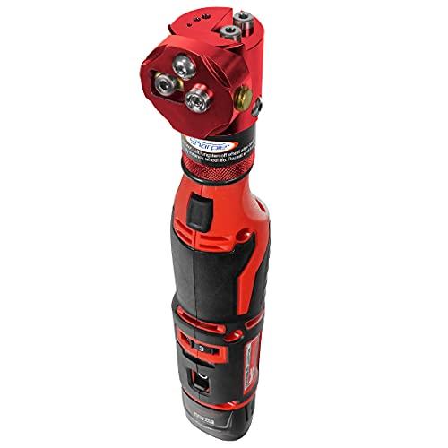 Cordless Sharpie DX Adjustable Hand-Held Tungsten Grinder (Auburn Red/Auburn Red)