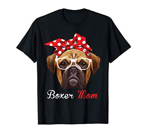 Divertida mamá boxer para amantes de los perros Boxer Camiseta
