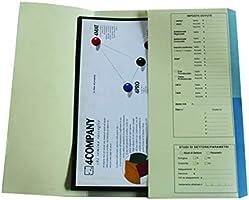 4company 4175 01 Cartelline Dichiarazione Redditi blu, conf. 50 pezzi
