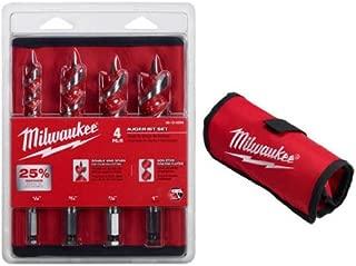 Milwaukee 48-13-4000 4 Piece Auger Set