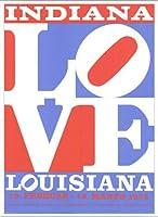 ポスター ロバート インディアナ Love louisiana 額装品 アルミ製ベーシックフレーム