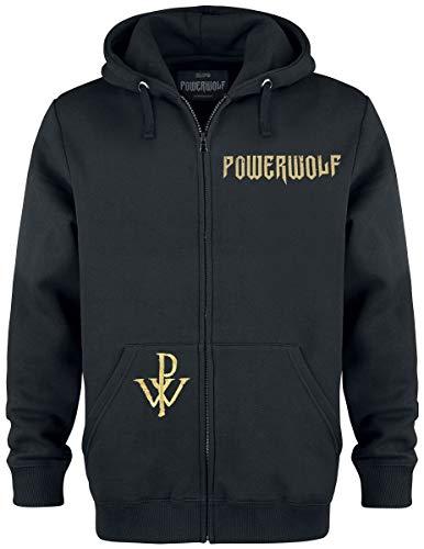 Powerwolf SOS - Wolf Männer Kapuzenjacke schwarz XXL 70% Baumwolle, 30% Polyester Band-Merch, Bands