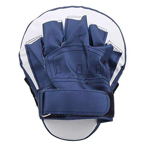 Aoutecen Les Gants de Boxe Arc Sanda Hand Target Boxing pour Les Sports de Plein air réduisent Le Stress de Pression(Navy Blue)
