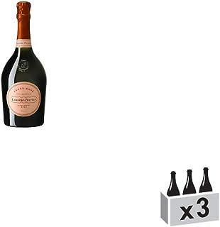 Champagne Rosé - Champagne Laurent-Perrier - Rebsorte Pinot Noir - 3x75cl - 15/20 Jancis Robinson